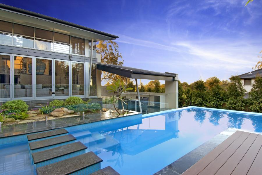 Dural, NSW. Custom Pool